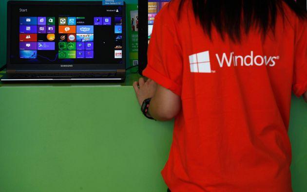 La acción de Microsoft aumentó 36% tras la llegada de Nadella, pero luego perdió la mitad de sus ganacias. Foto: REUTERS