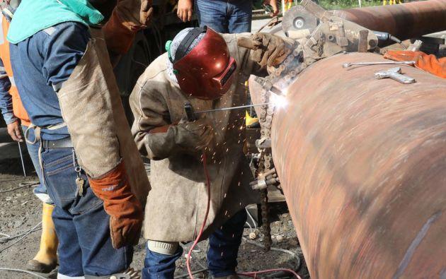 Petroecuador realizó la paralización de operaciones del SOTE por un lapso estimado de 48 horas.