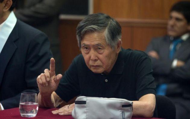 El expresidente ya cumple una condena de 25 años de cárcel por abusos a los derechos humanos. Foto archivo