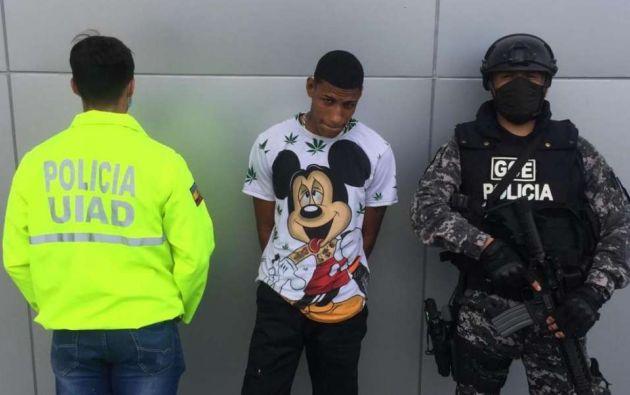 """El detenido """"habría estado en el vehículo"""" que persiguió y disparó a Ruales el pasado 27 de enero."""