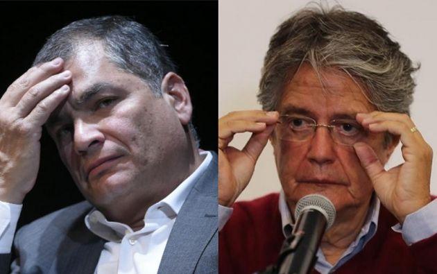 """""""No mienta señor Correa, jamás he propuesto semejante barbaridad"""", dijo Laso."""