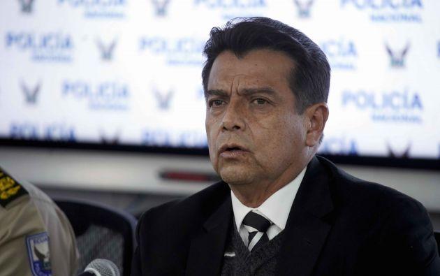 Pazmiño agradeció al presidente de la República, Lenín Moreno. Foto: API