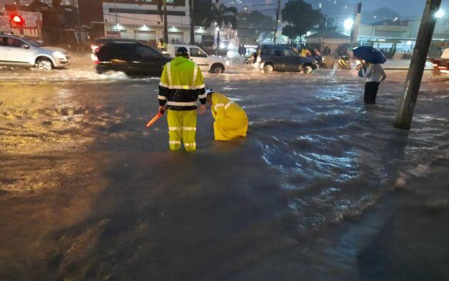 stos eventos no ocasionaron muertos ni desaparecidos. Foto: Municipio de Guayaquil