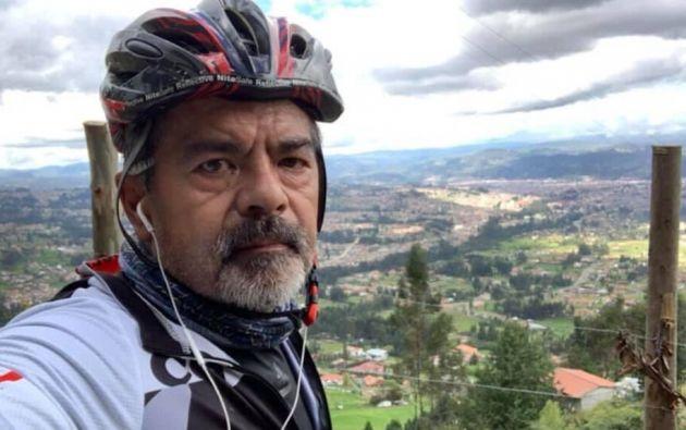 Jarrín representó a Ecuador en los Juegos Olímpicos de Moscú de 1980 en la especialidad de 4.000 metros persecución individual. Foto: @JaimeLopezNovil