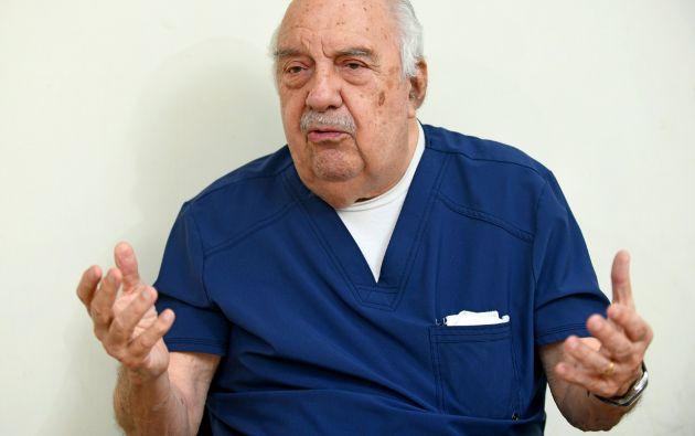 Luis Enrique Sarrazín Dávila, 84 años, fue ministro de Salud durante el gobierno de Osvaldo Hurtado.