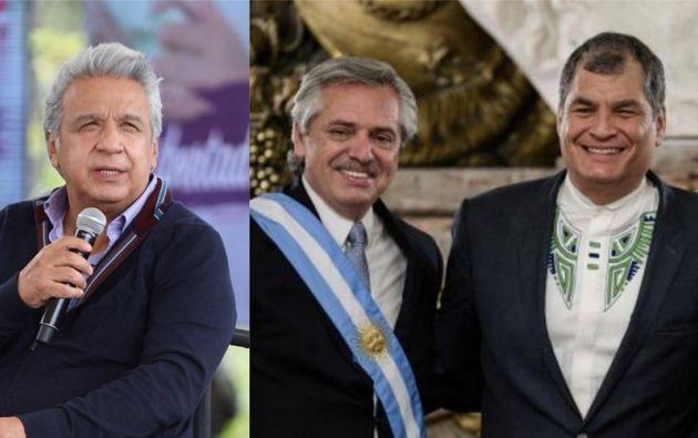 """El Gobierno ecuatoriano interpretó la comparación hecha por Fernández como una """"inaceptable intervención""""."""