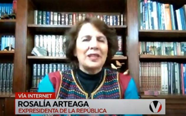 """""""A veces a las pioneras nos toca pagar el precio"""", dice Rosalía Arteaga."""