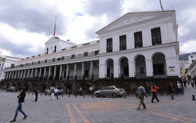 QUITO.- Palacio de Carondelet. Foto: API