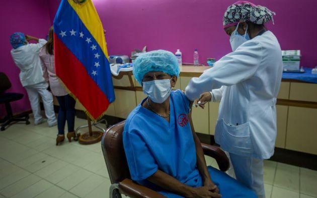 En Caracas y sus alrededores ha habido un incremento de casos por la llegada de la variante brasileña del nuevo coronavirus. Foto: EFE
