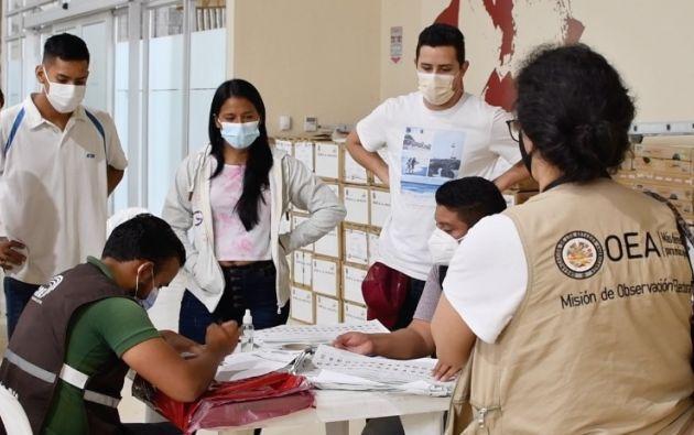 OEA  busca reclutar a ciudadanos extranjeros residentes en Ecuador y que cumplan con los criterios de elegibilidad. Foto tomada del CNE