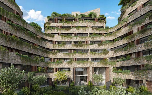 Cuatro bancos otorgan créditos verdes para la construcción amigable con el ambiente.