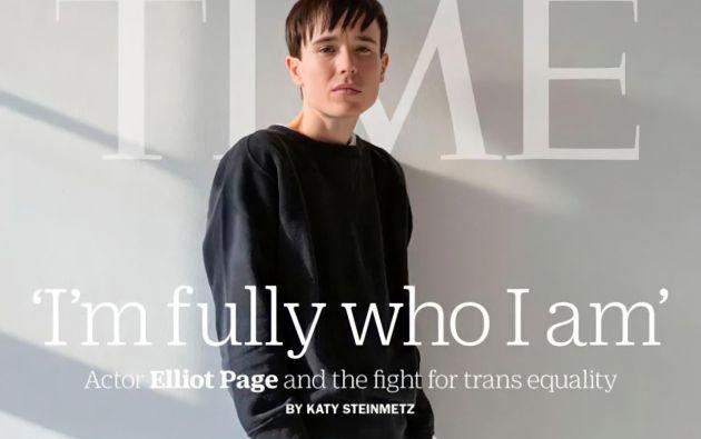 """Page reveló en diciembre pasado que es transgénero, a través de una carta publicada en Instagram. Explicó que esperaba """"mucho apoyo y amor y una gran cantidad de odio y transfobia""""."""