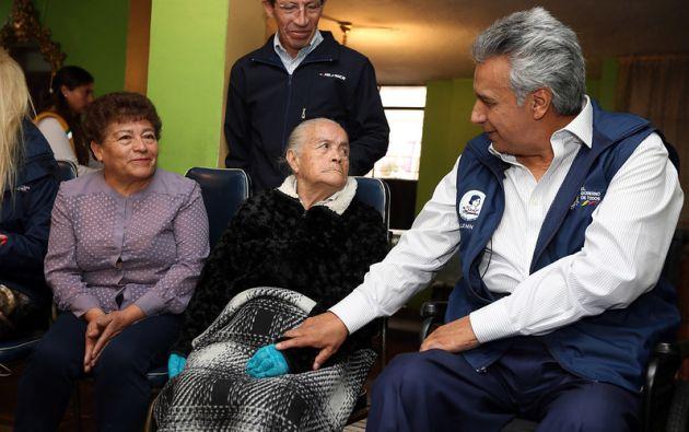 Se emplearán los registros de adultos mayores en situación de vulnerabilidad. Foto: Presidencia de la República