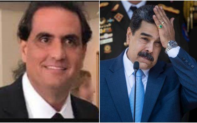 El colombiano Alex Saab es considerado por Estados Unidos como el presunto testaferro del presidente venezolano Nicolás Maduro.