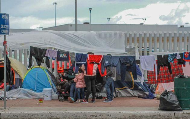 El presidente estadounidense Joe Biden irá a la frontera ante la crisis que le estalló en pleno inicio de su mandato por el aumento de la llegada de inmigrantes indocumentados, muchos de ellos menores de edad solos. Foto: EFE