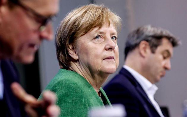 """La canciller Merkel consideró que la situación es """"muy grave"""". Foto: EFE"""