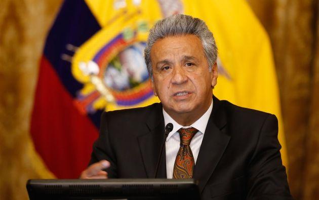 Moreno desacreditó informe sobre el paro de octubre del 2019.
