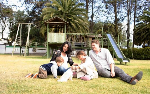 Disfrutar en espacios al aire libre es uno de los requerimientos de las familias que salen de turismo. Foto cortesía Rumipamba de las Rosas