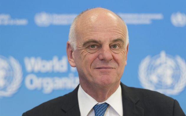 El enviado especial sobre la covid-19 de la Organización Mundial de la Salud (OMS), David Nabarro. EPA/SANDRO CAMPARDO/Archivo