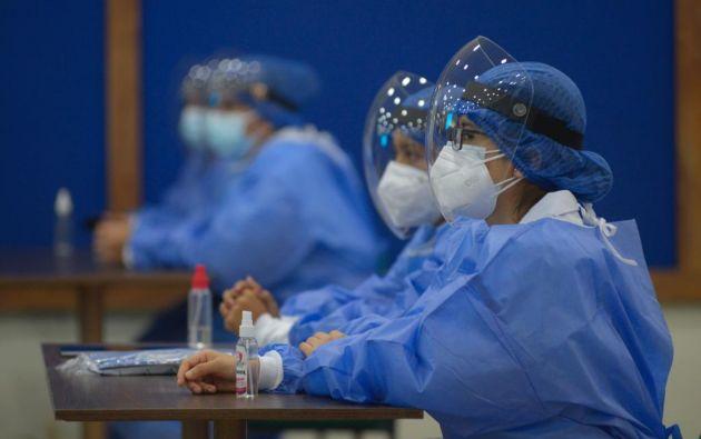 El cabildo recalcó que solo se inmunizará a las personas que consten en el registro del Ministerio de Salud Pública.