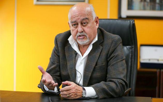 El ministro de Finanzas, Mauricio Pozo. Foto: EFE