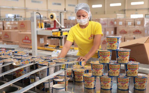 Oriental Industria Alimenticia invirtió dos millones de dólares en la adquisición de maquinaria para sus líneas de instantáneos y de láminas de masa precocida de harina de trigo fortificada. Foto cortesía.