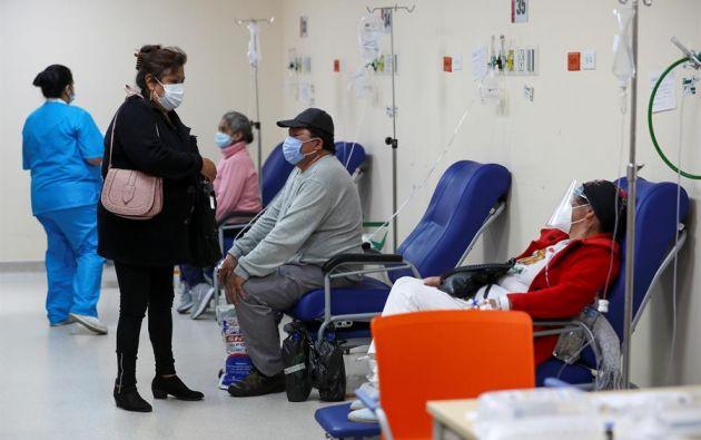 Quito es la ciudad más golpeada por la pandemia con 108.054 casos. Foto: EFE