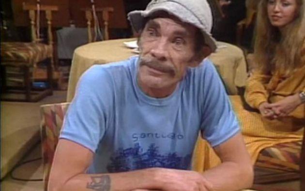 """El El personaje de """"Don Ramón"""" fue encarnado por el actor mexicano Ramón Valdés."""