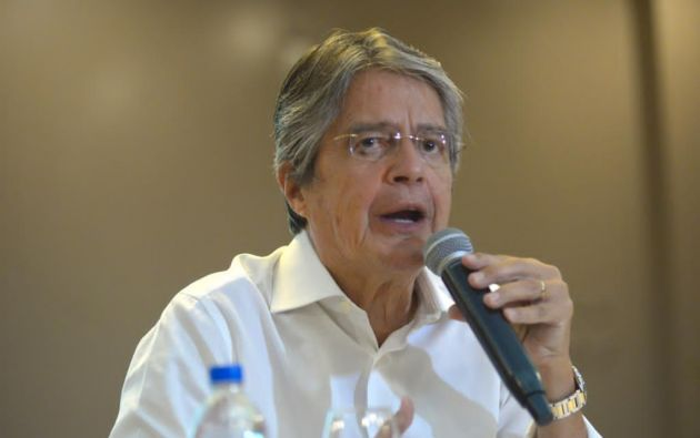Lasso participa por tercera vez en las elecciones presidenciales de Ecuador.