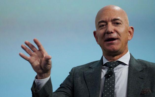 Jeff Bezos, empresario y magnate estadounidense fundador y director ejecutivo de la empresa de venta online Amazon, es el hombre más rico del mundo.