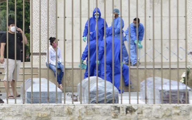 Financial Times ubicó a Ecuador como el segundo país con más muertes en exceso.