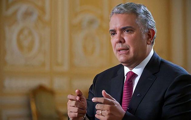 """Según Duque, """"la destrucción social en Venezuela ha detonado la crisis migratoria más grande que hoy hay en el mundo."""""""
