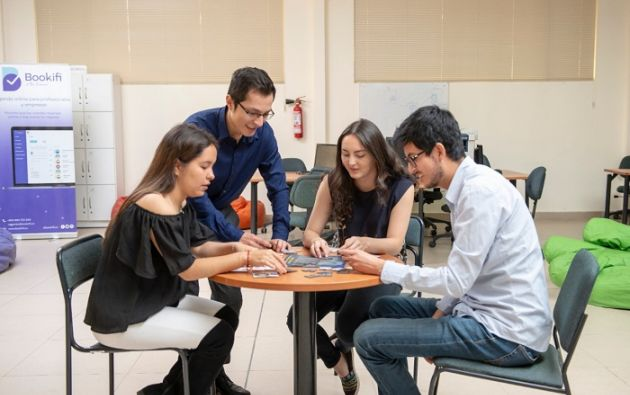 Cada vez más, las universidades del país fortalecen sus procesos de enseñanza con materias que fomentan el emprendimiento. Foto cortesía.