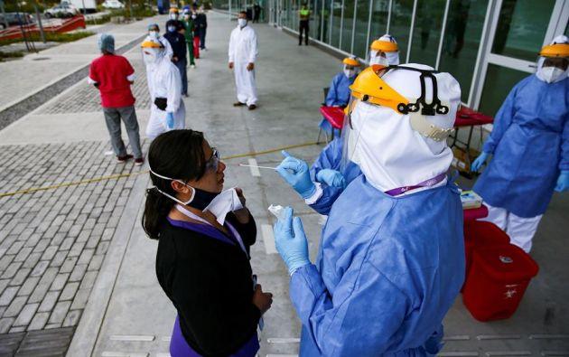 Quito es la ciudad más golpeada por la pandemia con 109.896 casos. Foto: EFE