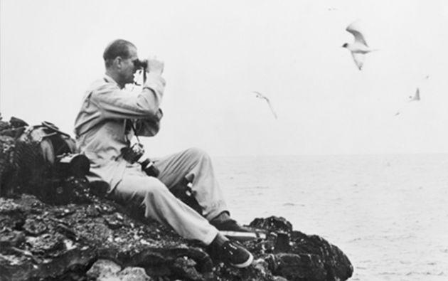 Felipe recorrió varios kilómetros sobre el accidentado terreno volcánico de varias islas. Foto: The Royal Post.