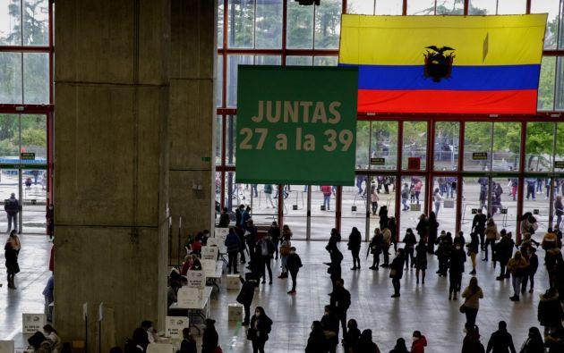 El voto de los ecuatorianos en España supone el 43 % del total del voto en el extranjero. Foto: API