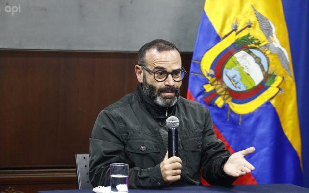 Wated fue designado para liderar junto al ministro de Trabajo, Andrés Isch, el equipo de transición de Gobierno. Foto: API