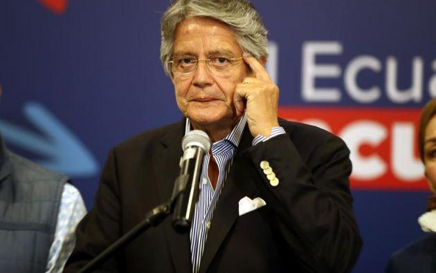 Lasso contempla donar su  salario presidencial a fundaciones dedicadas al trabajo social. Foto: EFE