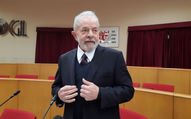 Las penas contra Lula sumaban casi 25 años de cárcel, por un conflicto de competencias. Foto: Efe.