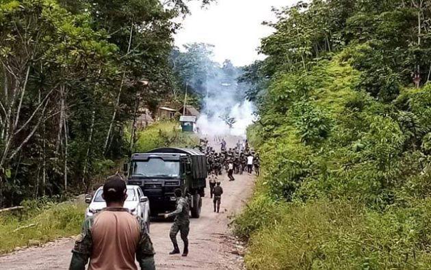 La CONAIE pidió a la Fiscalía de la provincia de Orellana investigar los actos violentos y exhortó a la Defensoría del Pueblo la omisión de las acciones y omisiones militares.
