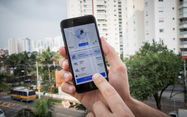 Las aplicaciones permiten eligir las diversas alternativas de servicios.
