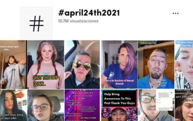 """Varios internautas han recomendado """"no salir de casa"""" el próximo 24 de abril."""
