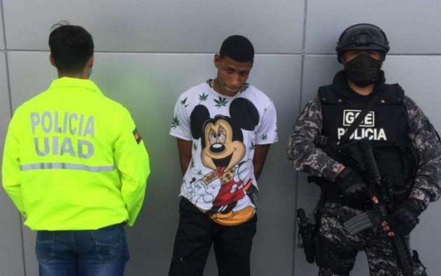 Alias Alvarito confesó que fueron contratados para asustar al actor de Ecuavisa, no para matarlo.