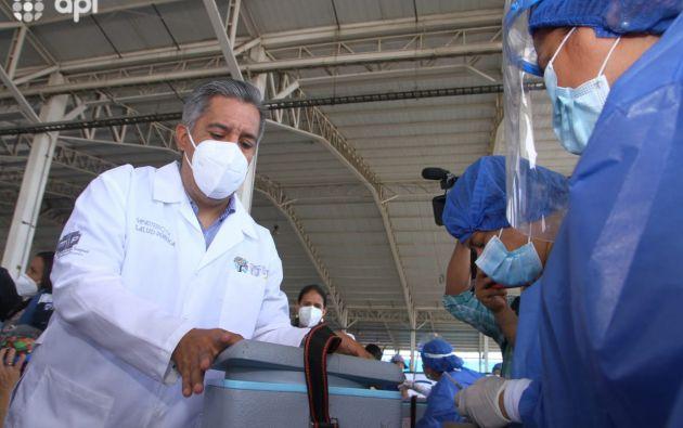 Camilo Salinas, ministro de Salud. Foto: API.