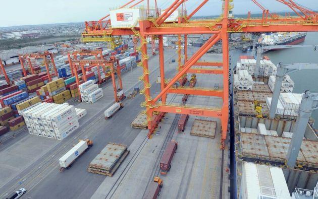 La terminal portuaria de Guayaquil es la primera de las Américas en obtener la Certificación Carbono Neutro. Foto: Vistazo.