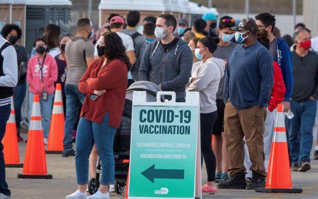 La vacunación en Florida ha sido una de las más controversiales. Foto: Efe.