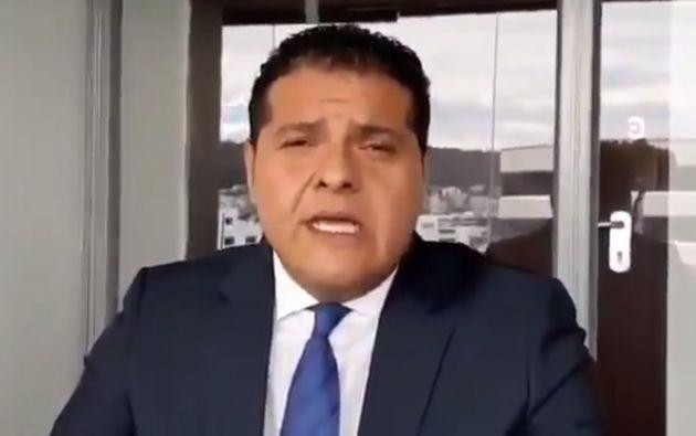 """Ministro de Gobierno dijo que Salcedo """"estaba vinculado con clientes que se dedican a actividades reñidas con la ley""""."""
