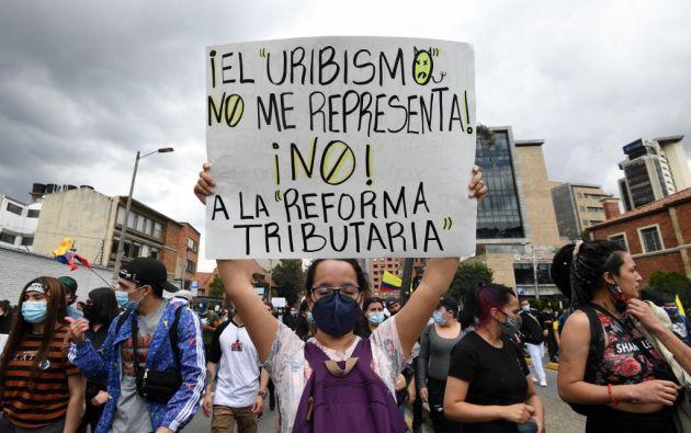 Los cambios en la reforma no calmaron a los protestantes. Foto: AFP