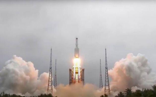 Se espera que el cohete chino entre en la atmósfera de la Tierra el ocho de mayo.