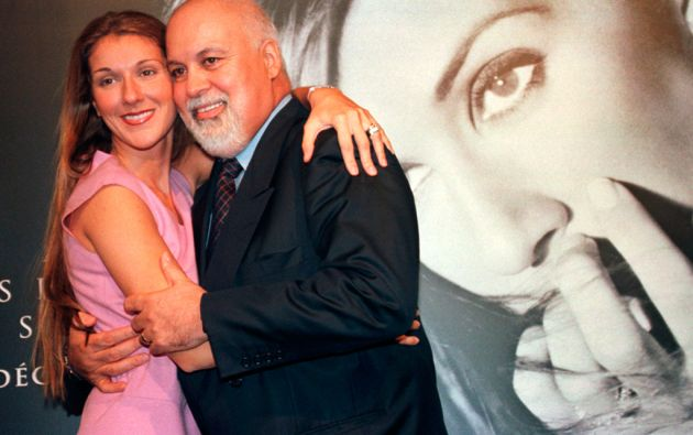 Celine Dion y René Angélil. Foto: REUTERS